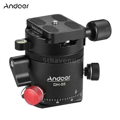 Andoer HDR Panoramic Indexing Rotator Tripod Ball Head Quick Release Plate Clamp