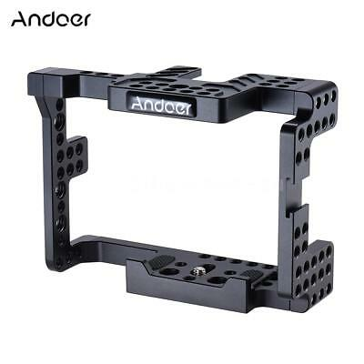 Andoer Aluminum Alloy Camera Cage for Sony  A7II A7RII A7SII ILDC Cameras W1N3
