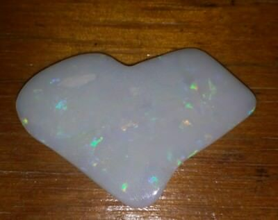 12.30 cts cut & polished fire opal .  Solid opal . Natural