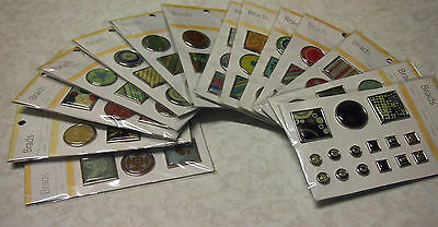Brads / choose from 14 different types / Craft / Scrapbooking / Card making