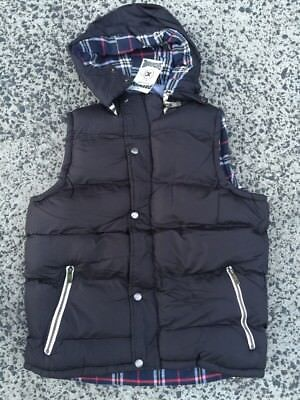 PUFFER VEST winter mens fashion warm soft fully lined outdoors sleeveless   snug