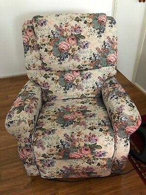Large Okin Electric Lift Chair Model SP2-B Tapestry Fabric