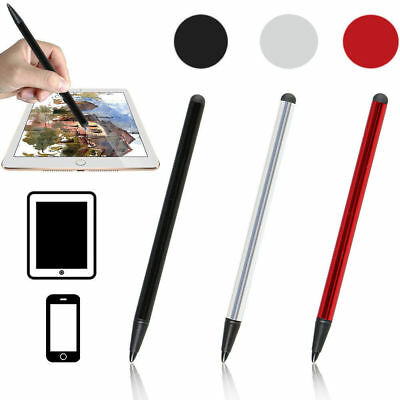 2 in1 Touch Screen Pen Stylus Universal For iPhone iPad Samsung w/ High Accuracy