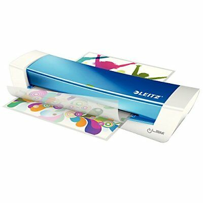 Leitz iLAM A4 Blue Laminator For Home & Office - 73680036