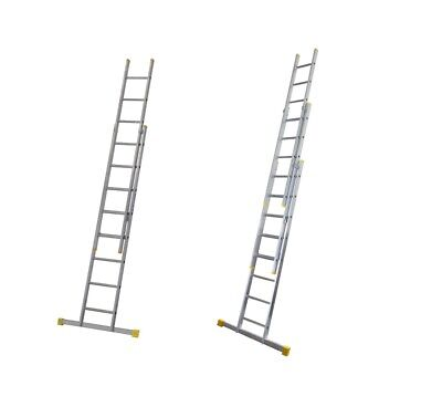 Werner Extension Ladders Heavy Duty EN131 Triple & Double Box Section Aluminium
