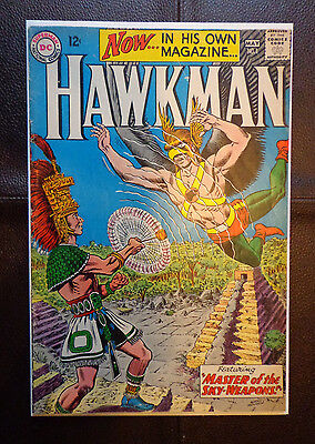 Dc Hawkman 1 Silver Age Key Book 1964 Nice Looking Comic Slightly Trimmed