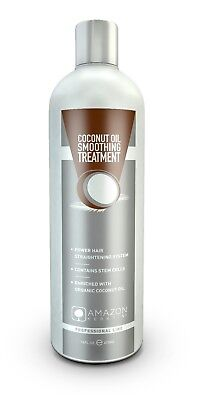 Amazon Keratin Coconut Oil Smoothing Treatment 473 ml / 16 Oz
