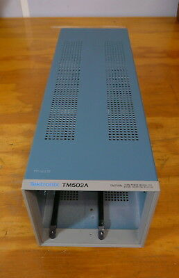 Tektronix TM502A Power Mainframe 2-Slot Chassis for TM500 Series Plugins