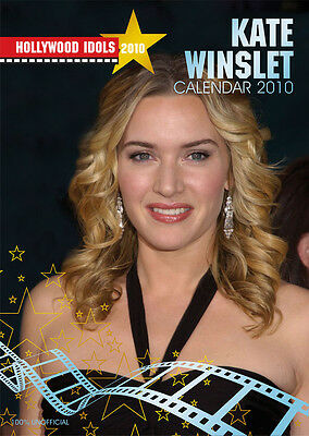 Kate Winslet Calendar 2010 Hollywood Idol Calendar New & Original Packaging