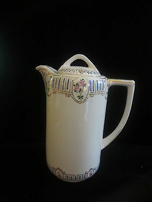 Vintage Japanese Nippon Rising Sun Mark Coffee Tea Chocolate Pot Hand Painted