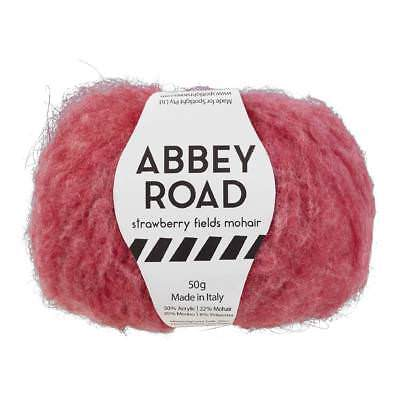 NEW Abbey Road 50 G Strawberry Fields Mohair Yarn By Spotlight