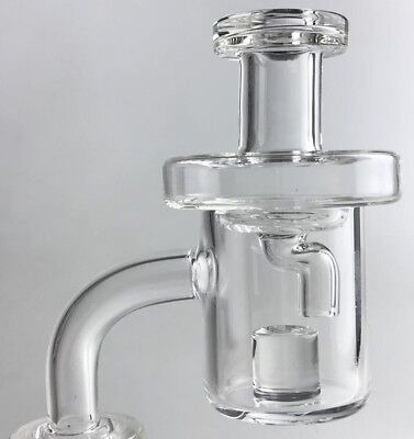 Quartz Banger Reactor WITH CAP ALL SIZES US FAST SHIPPING