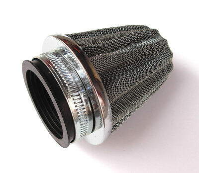 32MM CONE POWER AIR FILTER for PGO SDG SSR SCOOTER MOPED DIRT MINI TRAIL BIKE E4