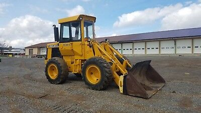 1974 John Deere 544AB Wheel Loader Diesel Engine Hydraulic Construction Machine.
