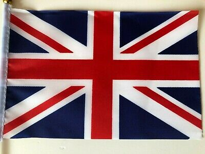 UNION JACK HAND WAVING FLAG British National World Cup Football/Tennis/Party