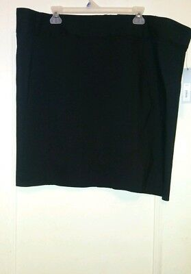 3b664335230 seamed pencil skirt size 22W black APT.9 kohl s plus size skirt new with  tags