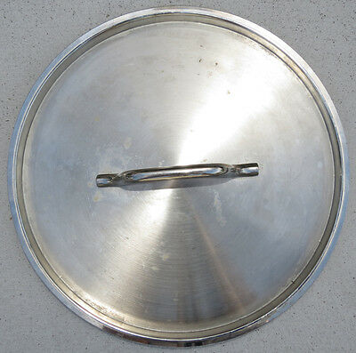 Replacement Stainless Steel Commercial Kettle Lid, Stock Pot, Spare Only