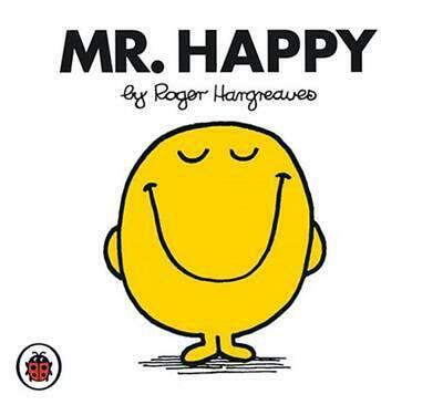 Mr Happy V3: Mr Men and Little Miss by Roger Hargreaves Paperback Book Free Ship