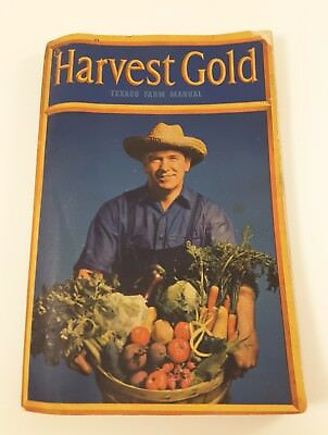 1943 TEXACO Farm Manual Harvest Gold 132 Pages