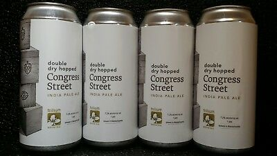 Trillium Brewing Double Dry Hopped Congress Street 4 Cans Brewed 3/19