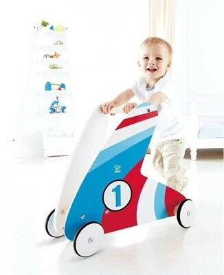 Hape Step And Stroll Walker With Racing Stripes - Baby Walker