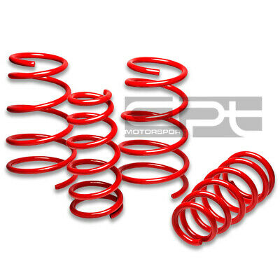 "Gtp W-Body Pontiac Grand Prix Ss Red Suspension Lowering Springs 1.7"" Drop Rate"
