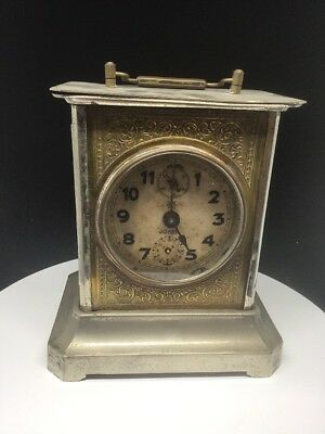 ANTIQUE ART DECO CLOCK 'JOKER' By JUNGHANS, WORKING