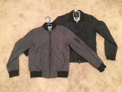 Mens Lot of 2 Jackets - Size Small - Bomber Jacket - Converse Used