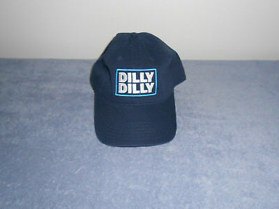 Bud Light DILLY DILLY Hat Cap Blue One Size Fits Most With Official Letter