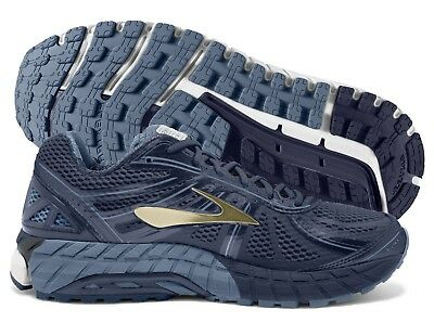 a0cef9c4243 Brooks Beast 16 Mens Shoe Peacoat Navy Gold multiple sizes New In Box