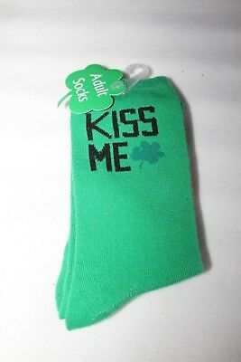 St Patrick's Day Adult Socks Size 7-9