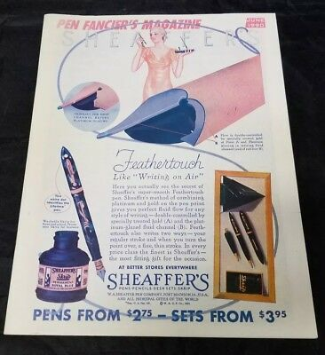 Pen Fancier's Magazine June 1990 Fountain Pen Club Sheaffer's FREE SHIPPING