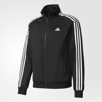 New Adidas Men's Essentials Tricot Key Training  Track Jacket -Xlarge- #s11942