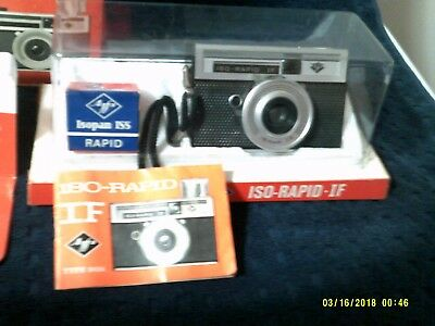 Agfa ISO-RAPID IF Type 2424 Camera in Original Box With Manual