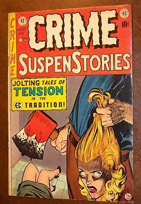 Crime Suspenstories 22 EC 1954