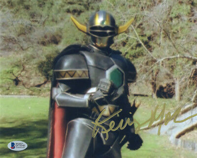 KERRIGAN MAHAN SIGNED 8x10 PHOTO VOICE OF GOLDAR POWER RANGERS RARE BECKETT BAS