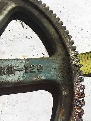 Boston Gear ND-120 Spur Gear 14.5 Pressure Angle Cast Iron 1 3/8 Bore