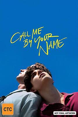 Call Me By Your Name - DVD Region 2,4 Free Shipping!