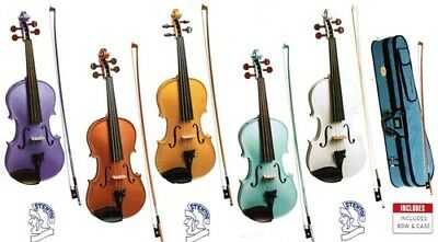 Stentor Harlequin Series Violin 1/2 To 4/4