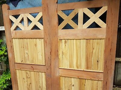 SINGLE OR DOUBLE Fence GATE 1835 x 920 VICTORIAN COLONIAL GATES  RRP: $3K+