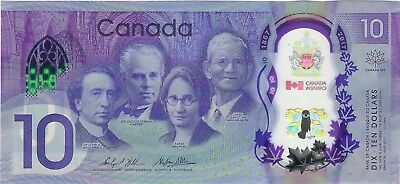 """Canada, 2017 10 Dollars BC-75 ((Unc)) """"Comm. 150th year of the Confederation"""""""