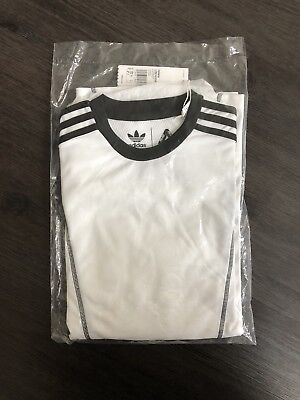 5b2fbd0c14ed PALACE ADIDAS LONG Sleeve Tee White Black Size Small -  110.00 ...