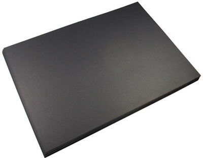 Presentation Board Quill 420X590Mm 1000Gsm Black Pk10