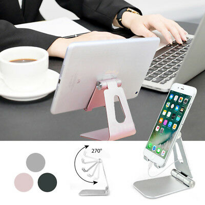 ITAdjustable Portable Aluminum Table Stand Holder Mount For iPad Pro Tablet