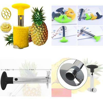 Pineapple Peeler Corer Slicer And Apple Core Remover Steel Dishwasher Safe