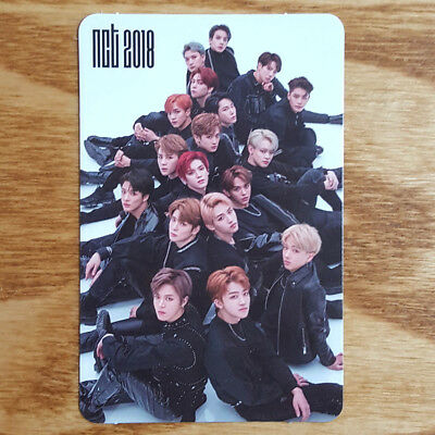 Group Cut NCT 2018 Empathy Official Photocard Dream Version Recall Kit