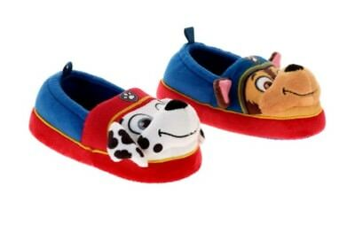 Paw Patrol Nickelodeon Toddler Boys' 3D Slip-on Slippers: S(5-6)-M(7-8)