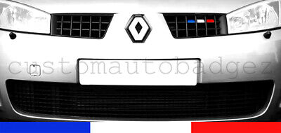 Renault Megane RS Sport Mk2 Phase 1 French Flag Grille Vinyl Decal Stickers 225