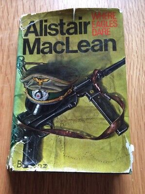 Alistair Maclean Where Eagles Dare First Edition Hardback