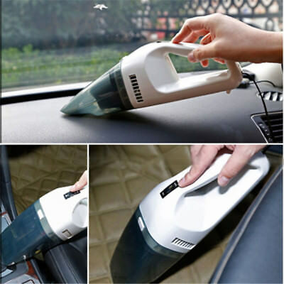 Multi Function Mini Handheld 12V Dust Car Vacuum Cleaner Wet & Dry Autos Vehicle
